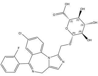 [metabolites] 1-Hydroxymidazolam β-D-glucuronide