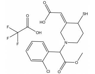 [metabolites] Clopidogrel thiol metabolite trifluoroacetate salt (Mixture of diastereoisomers)