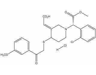 [metabolites] (E)-MPB derivatised Clopidogrel AM metabolite hydrochloride salt (Mixture of diastereoisomers)