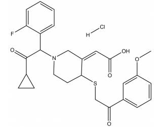 [metabolites] Prasugrel metabolite derivative hydrochloride salt (Mixture of diastereoisomers)