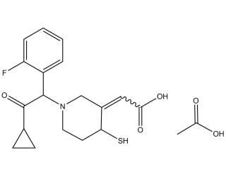 [metabolites] Prasugrel active metabolite acetate salt (Mixture of diastereoisomers)