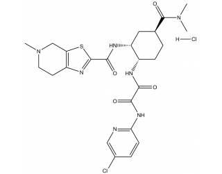 [reference-standards] Edoxaban hydrochloride salt