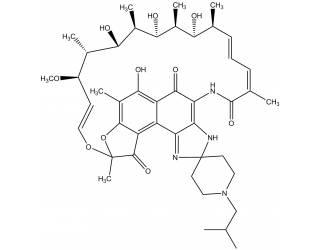 [metabolites] 25-O-desacetylrifabutin