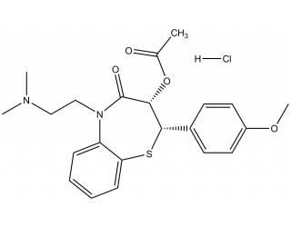 [reference-standards] Diltiazem hydrochloride salt