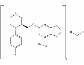 [reference-standards] Paroxetine hydrochloride salt hemihydrate