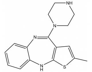[metabolites] N-Demethylolanzapine