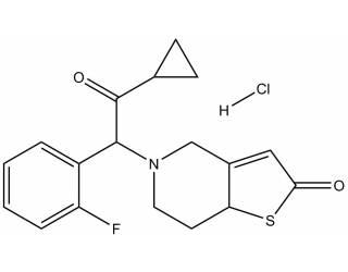 [metabolites] Prasugrel metabolite R95913 hydrochloride salt (Mixture of diastereoisomers)
