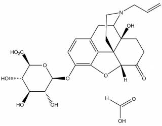 [metabolites] Naloxone-3-β-D-glucuronide formate salt