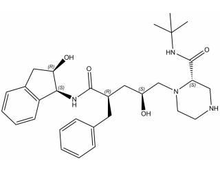 [metabolites] Des-3-pyridylmethyl indinavir