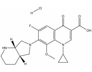 [reference-standards] Moxifloxacin hydrochloride salt