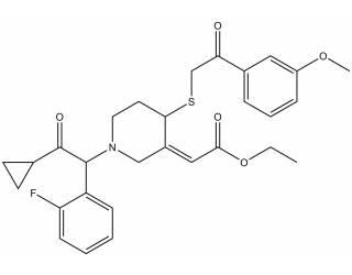 [metabolites] Prasugrel metabolite ethyl ester derivative (Mixture of diastereoisomers)