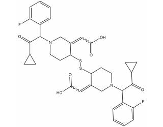 [metabolites] Prasugrel active metabolite dimer (S-S)