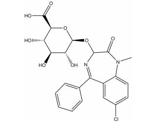 [metabolites] Temazepam-β-D-glucuronide, racemic mixture