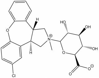 [metabolites] Asenapine-N-β-D-glucuronide (Mixture of diastereoisomers)