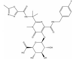 [metabolites] Raltegravir-β-D-glucuronide
