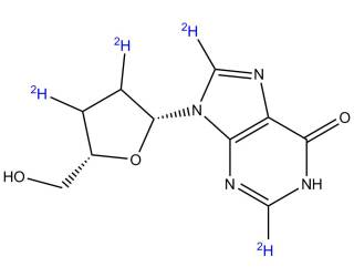 [stable-labeled-standards] [2H4]-2',3'-Dideoxyinosine