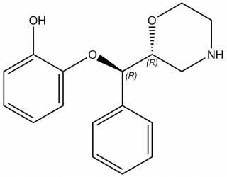 [metabolites] Rel-R, R-Desethylreboxetine