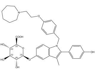 [metabolites] Bazedoxifene-5-β-glucuronide