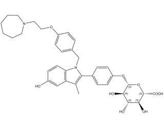 [metabolites] Bazedoxifene-4-β-glucuronide