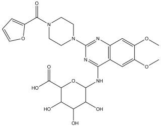 [metabolites] Prazosin N-Glucuronide