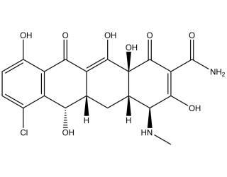 [metabolites] N-desmethyldemeclocycline
