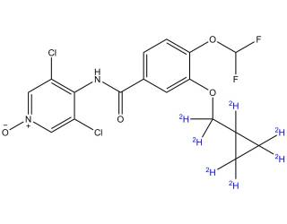 [metabolites] [2H7]-Roflumilast N-oxide