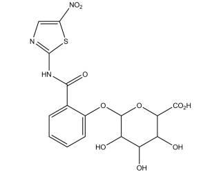 [metabolites] Tizoxanide glucuronide
