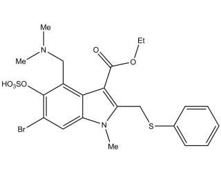 [metabolites] Umifenovir sulfate salt