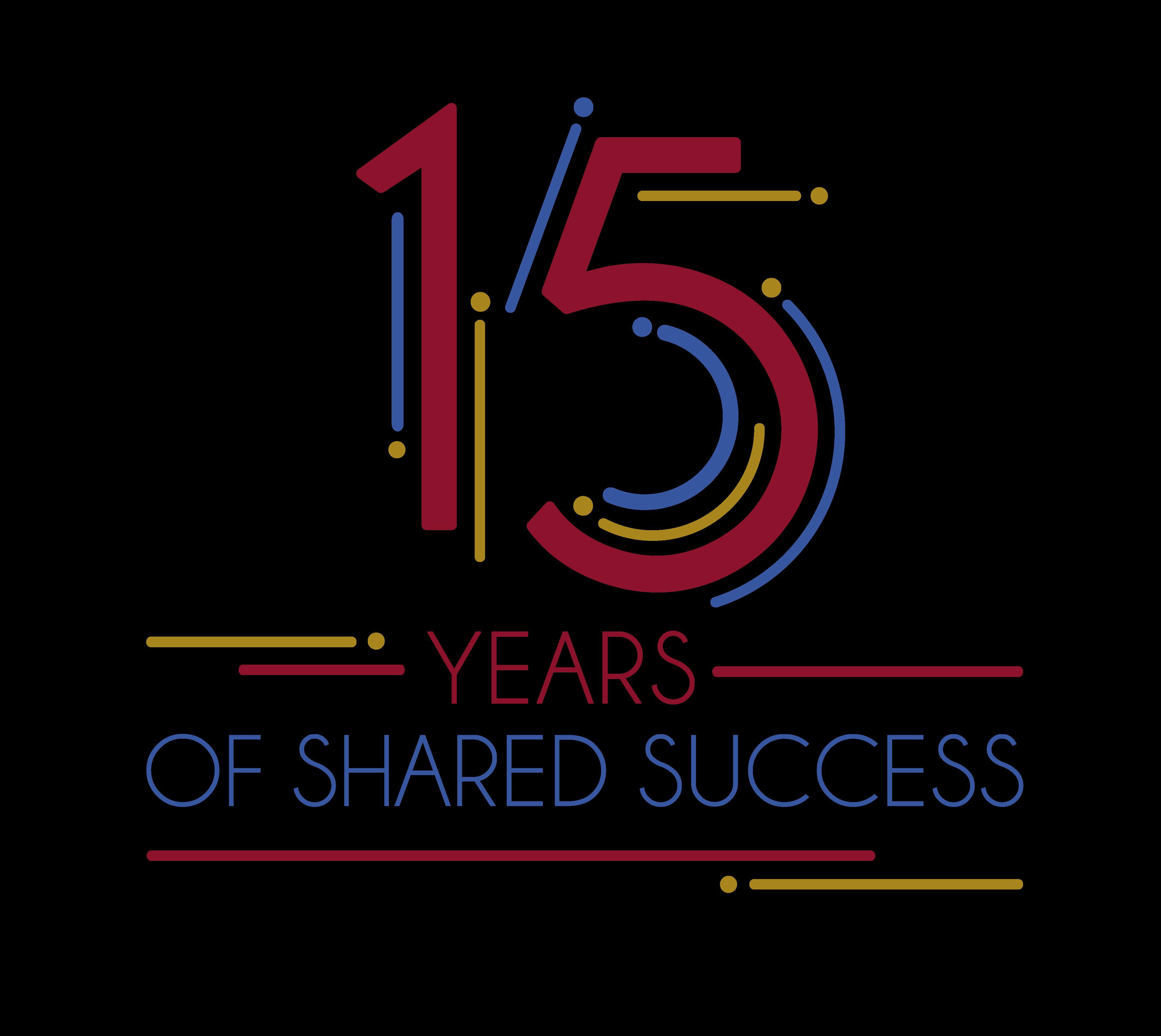 logo 15 Anniversary Alsachim
