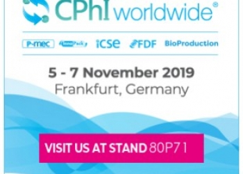 Meet us at CPHI 2019 in Frankfurt!
